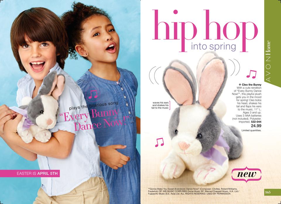Avon Cleo the Bunny