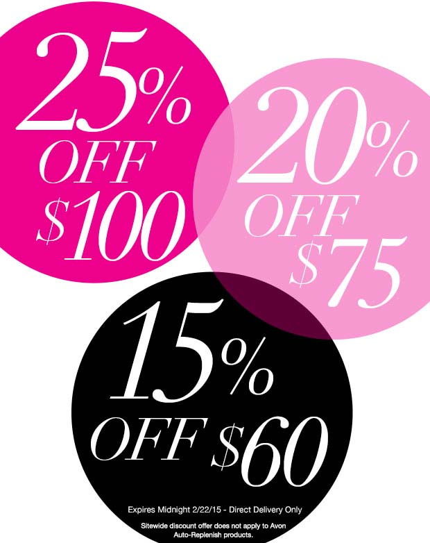Avon Coupon Code TIER25