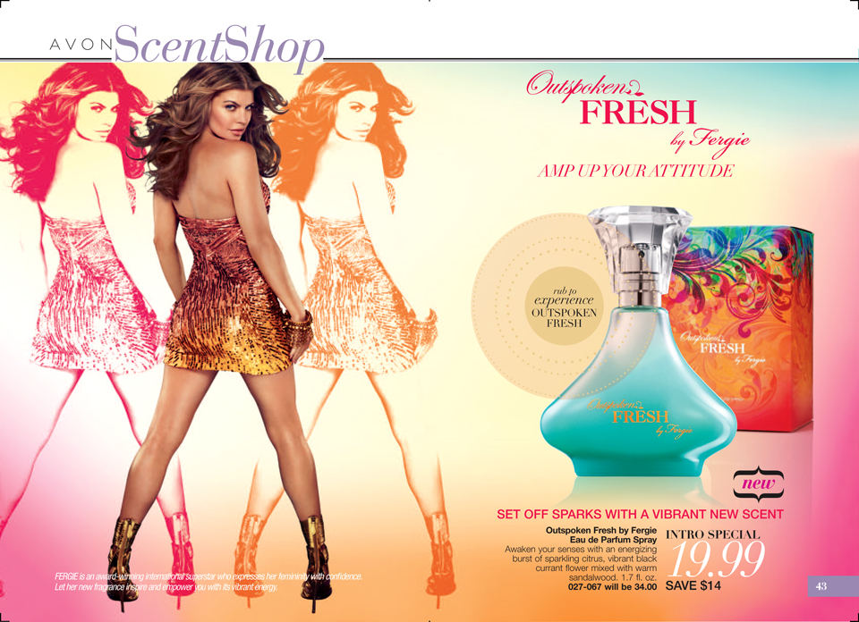 Avon Outspoken Fresh by Fergie Fragrance