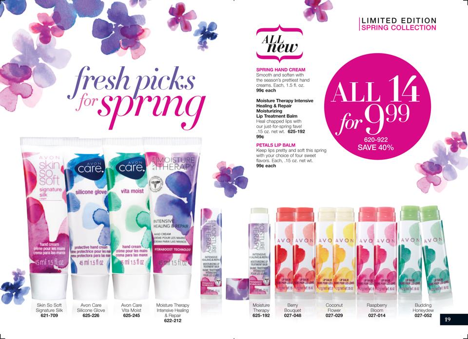 Avon Spring Hand Cream