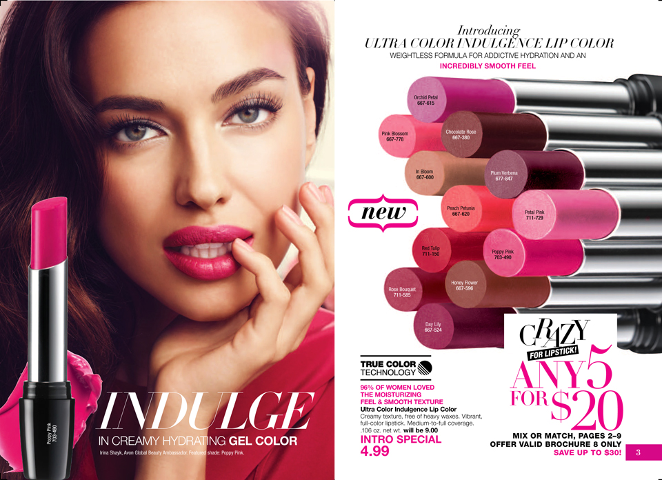 Avon Lip Stick Sale