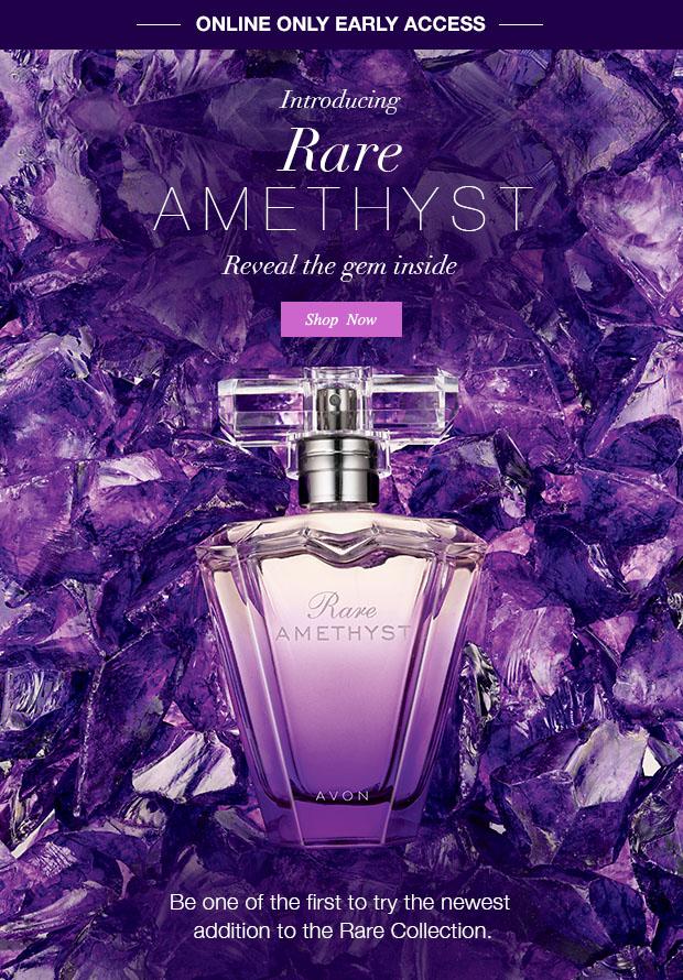 Introducing Avon Rare Amethyst