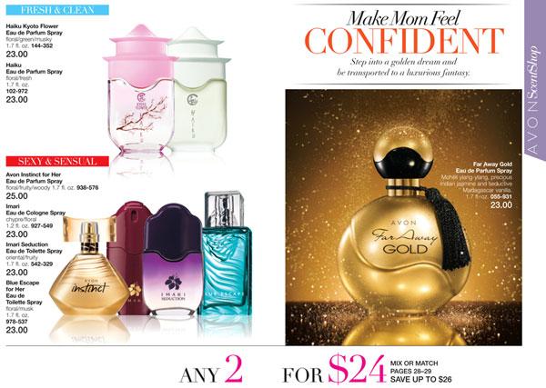 Avon Fragrance 2 for $24