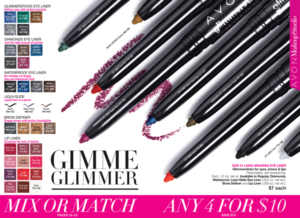 Avon Glimmersticks Sale
