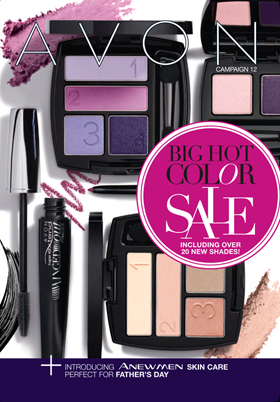 Avon Big Hot Color Sale