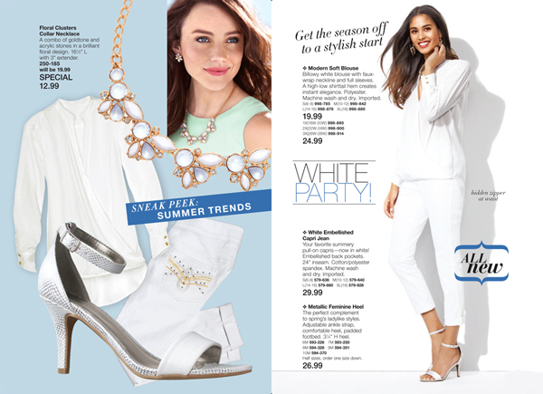 Avon Fashion and Jewelry Sale