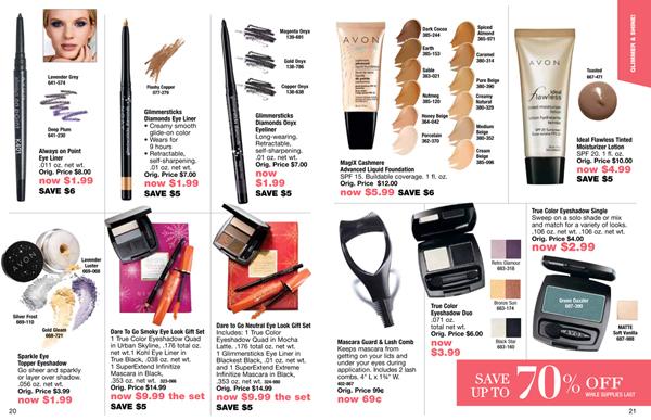 Avon Outlet Savings Makeup