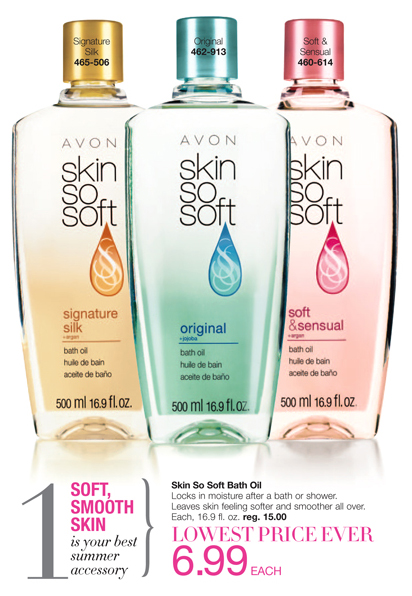 Avon Skin So Soft Bath Oil
