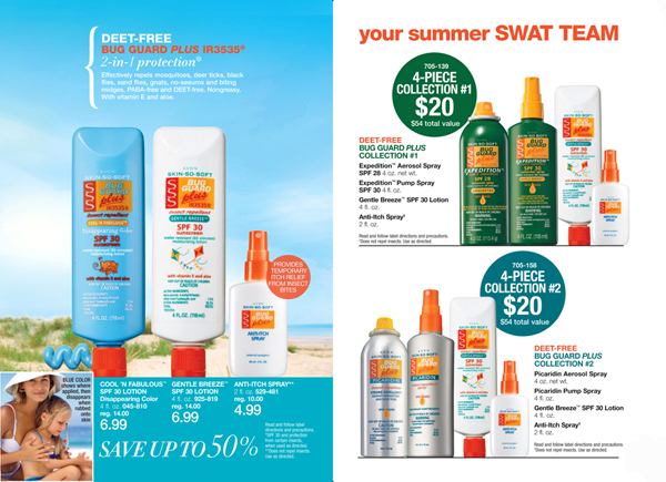 Avon Skin So Soft Bug Guard Collection