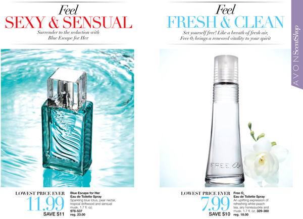 Avon Summer Fragrances