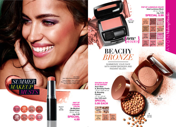 Avon Bronzing Pearls and Powders