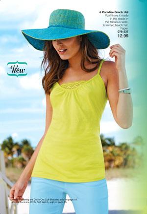Avon Paradise Beach Hat