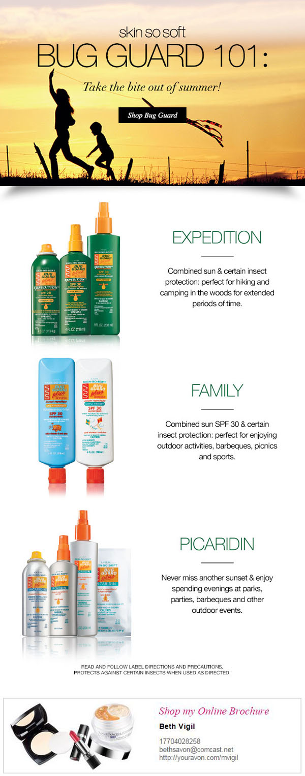 Avon Bug Guard For Summer