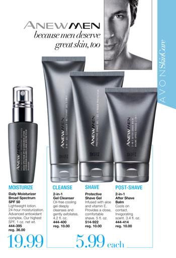 Avon Anew Men Skin Care