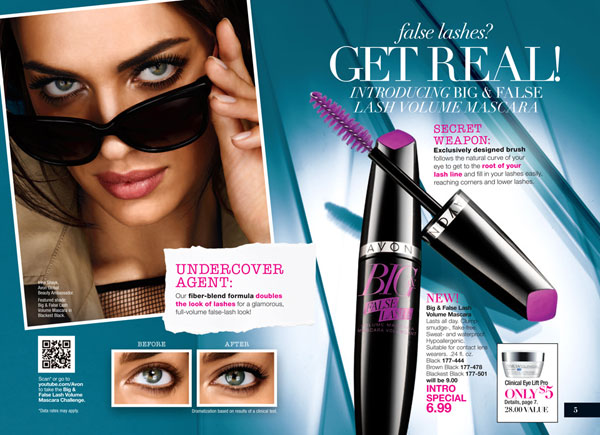 Avon Big and False Lash Mascara