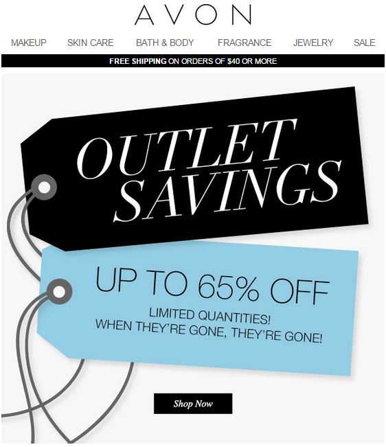 Avon Outlet Savings C20 2015