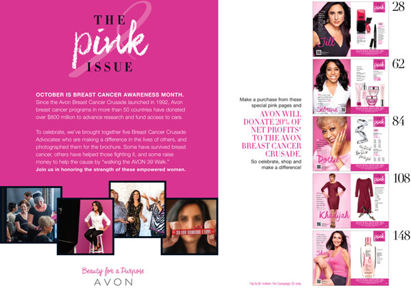 Avon Breast Cancer Products