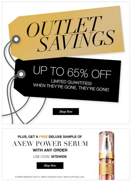 Avon C22 Outlet Savings
