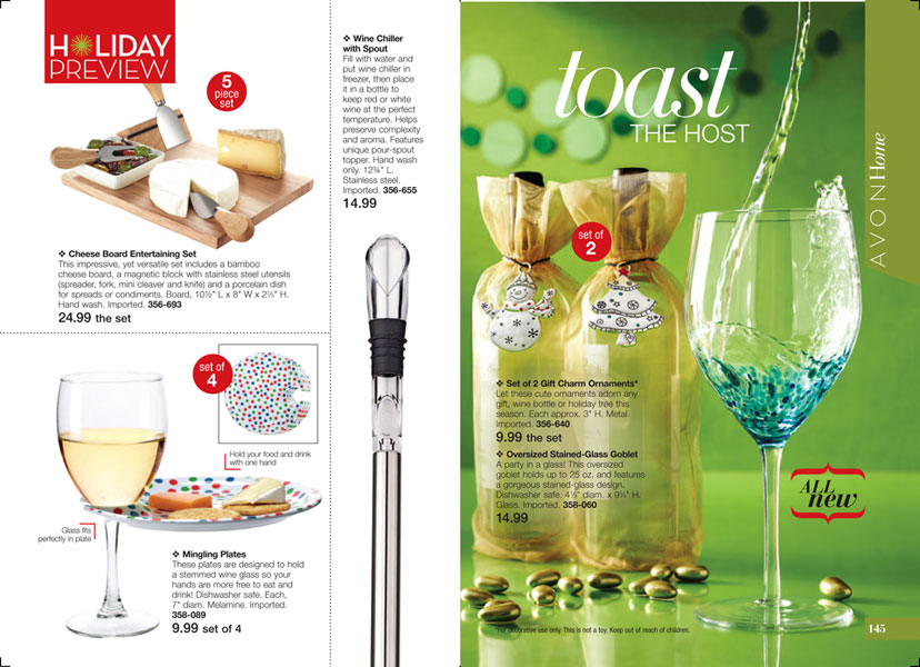 Avon Holiday Preview
