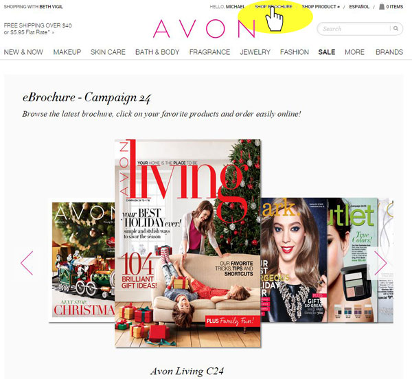 Avon Screenshot