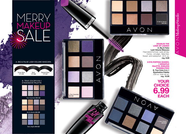 Avon Makeup Color Sale