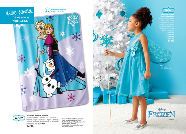Disney Frozen Elsa Blanket Gown