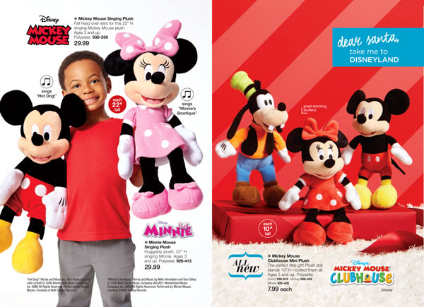 Disney Mickey Mouse Minnie Mouse Plush