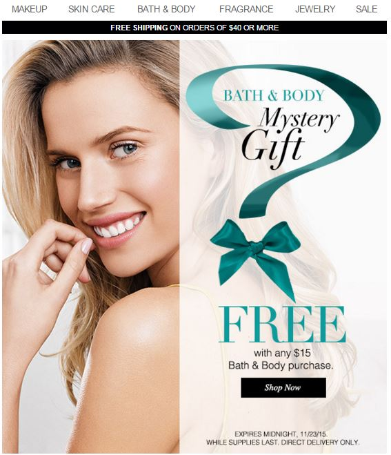 Avon Bath Body FREE Gift