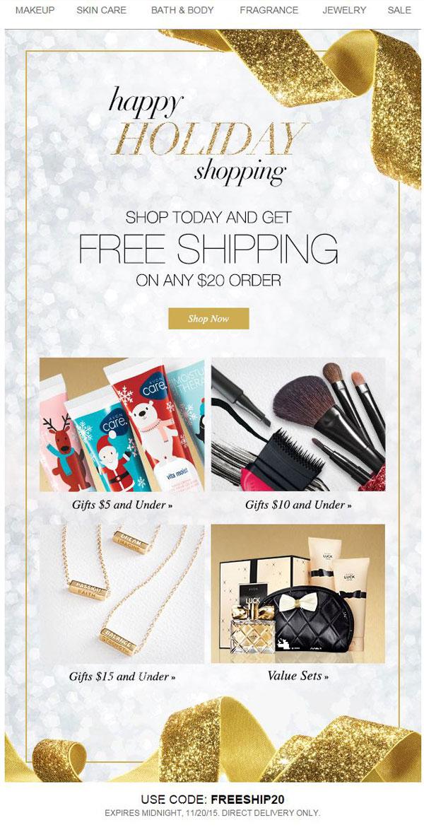 Avon Free Shipping Code FREESHIP20