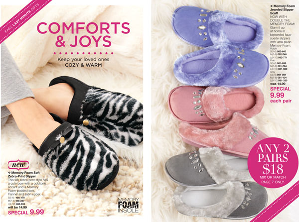 Mix and Match Slippers