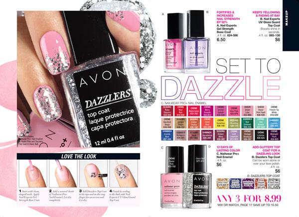 Avon Dazzlers Top Coat