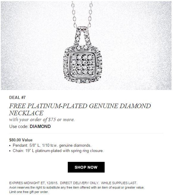 Avon Free Gift Code DIAMOND