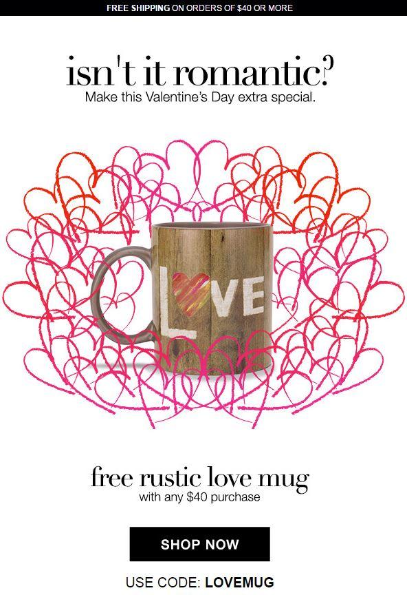 Avon Valentines Day Code LOVEMUG
