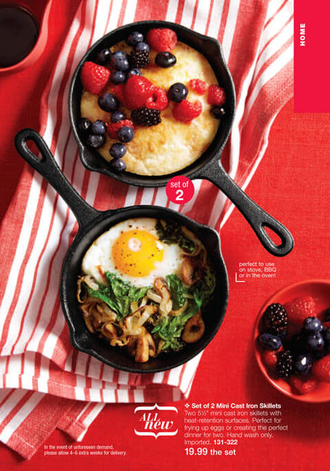 Mini Cast Iron Skillets