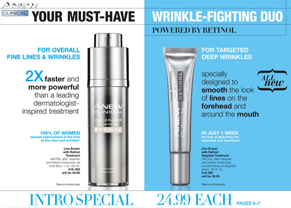 Anew Clinical Line Eraser with Retinol