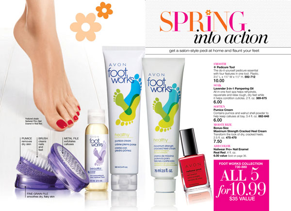 Avon Footworks Collection