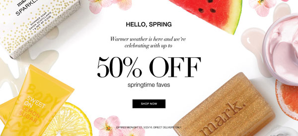 Avon Spring Sale 2016