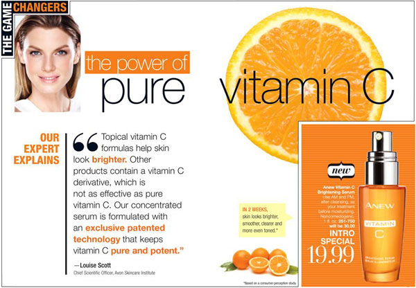 Avon Anew Vitamin C Brightening Serum