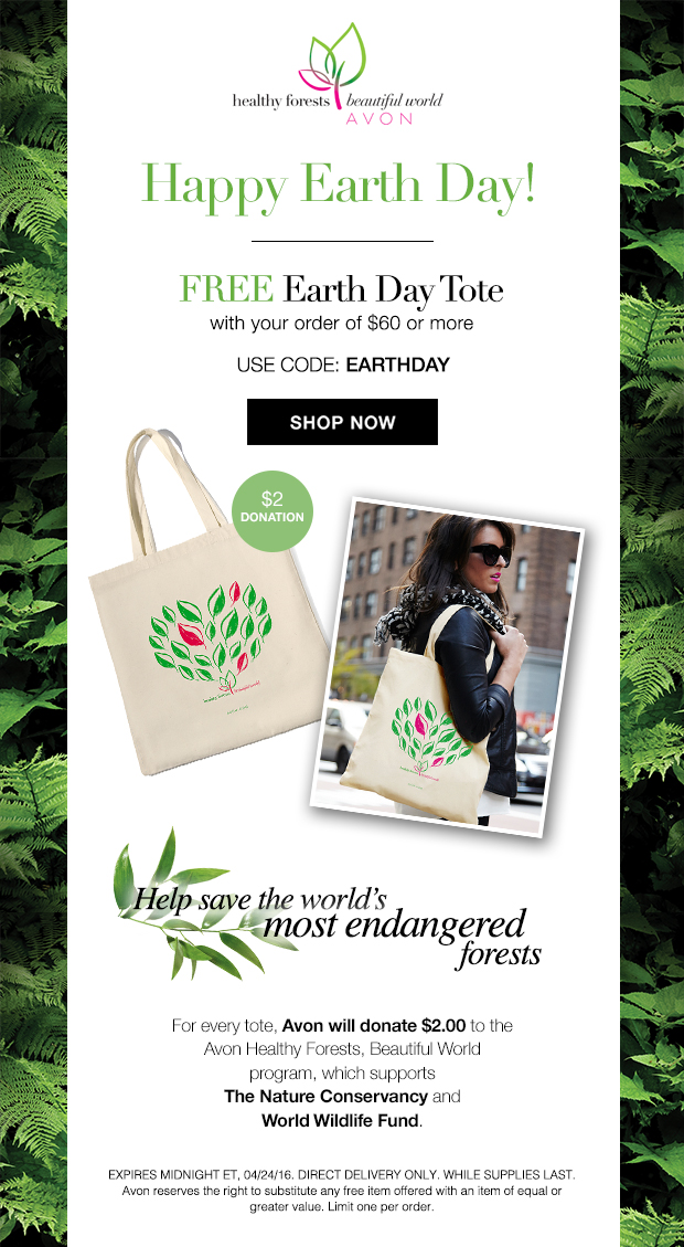 Avon Coupon Code EARTHDAY