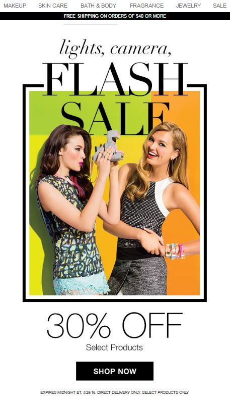 Avon Flash Sale 30