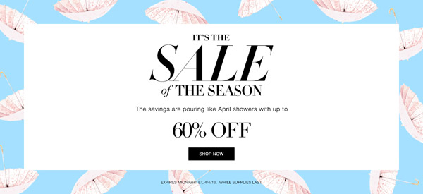 Avon Spring Season Sale