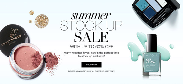 Avon Summer Sale
