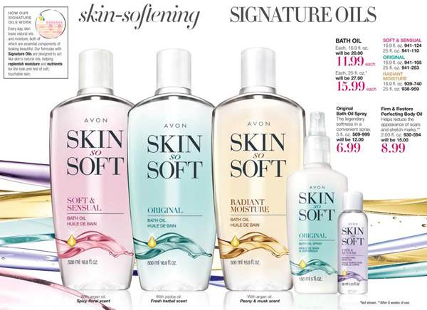 Skin So Soft Bath Oil