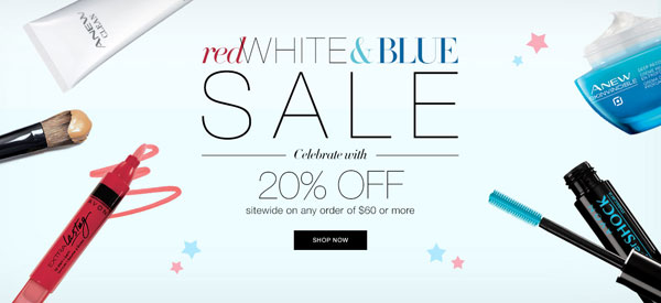Avon Coupon Code JULY4