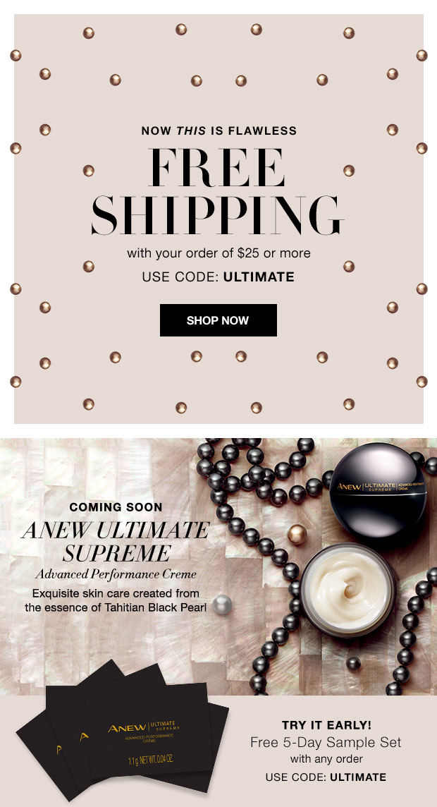 Avon Free Gift Code ULTIMATE