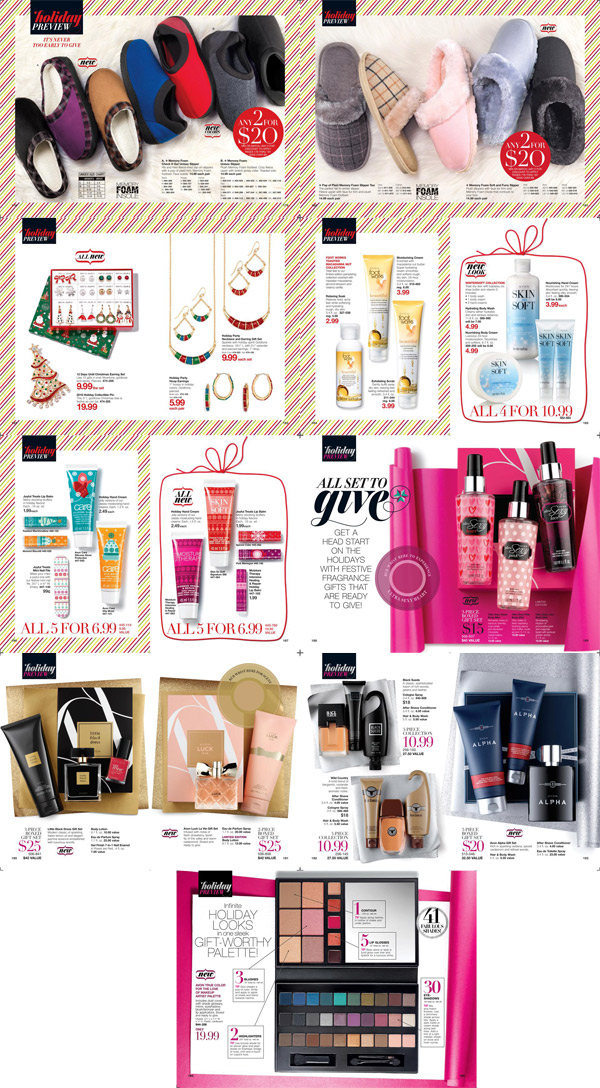 Avon Christmas Holiday Preview