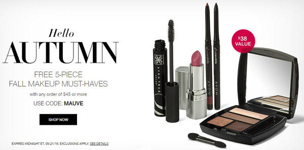 Avon Coupon Code MAUVE