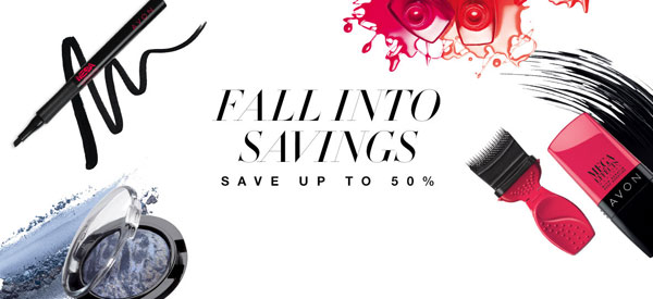 Avon Fall Makeup Savings