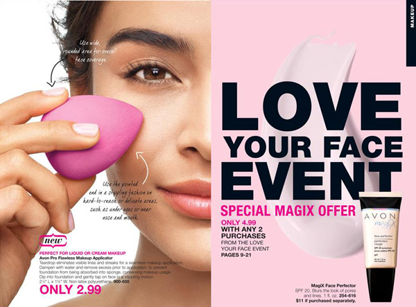 Avon Love Your Face Event