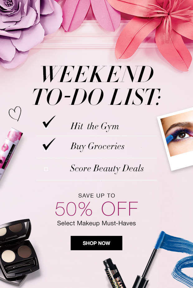 Avon Makeup Sale C23 2016